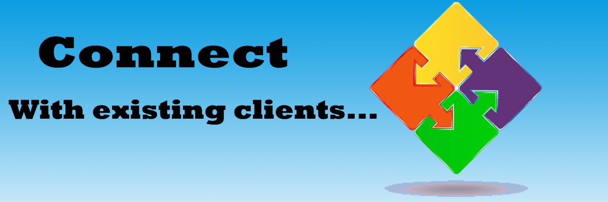 Connect with existing clients
